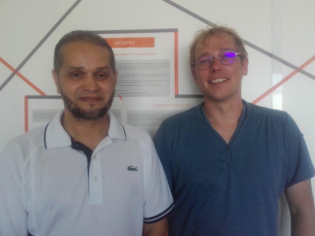photo Nacer Madji & Pierre Maréchal
