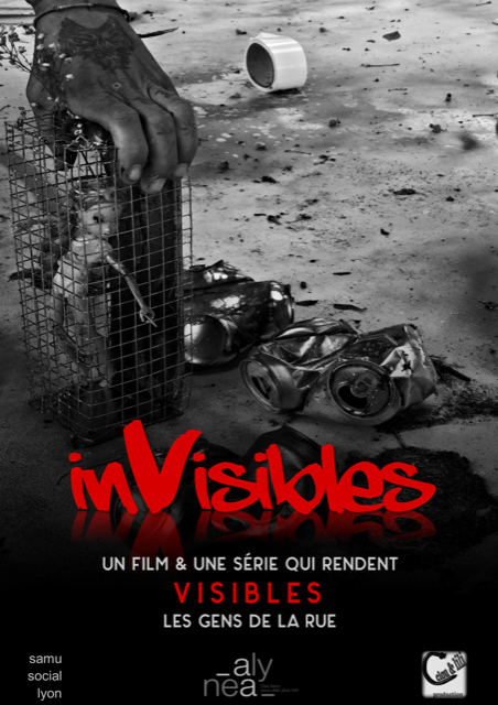 Affiche Invisibles_Clou et Lili production