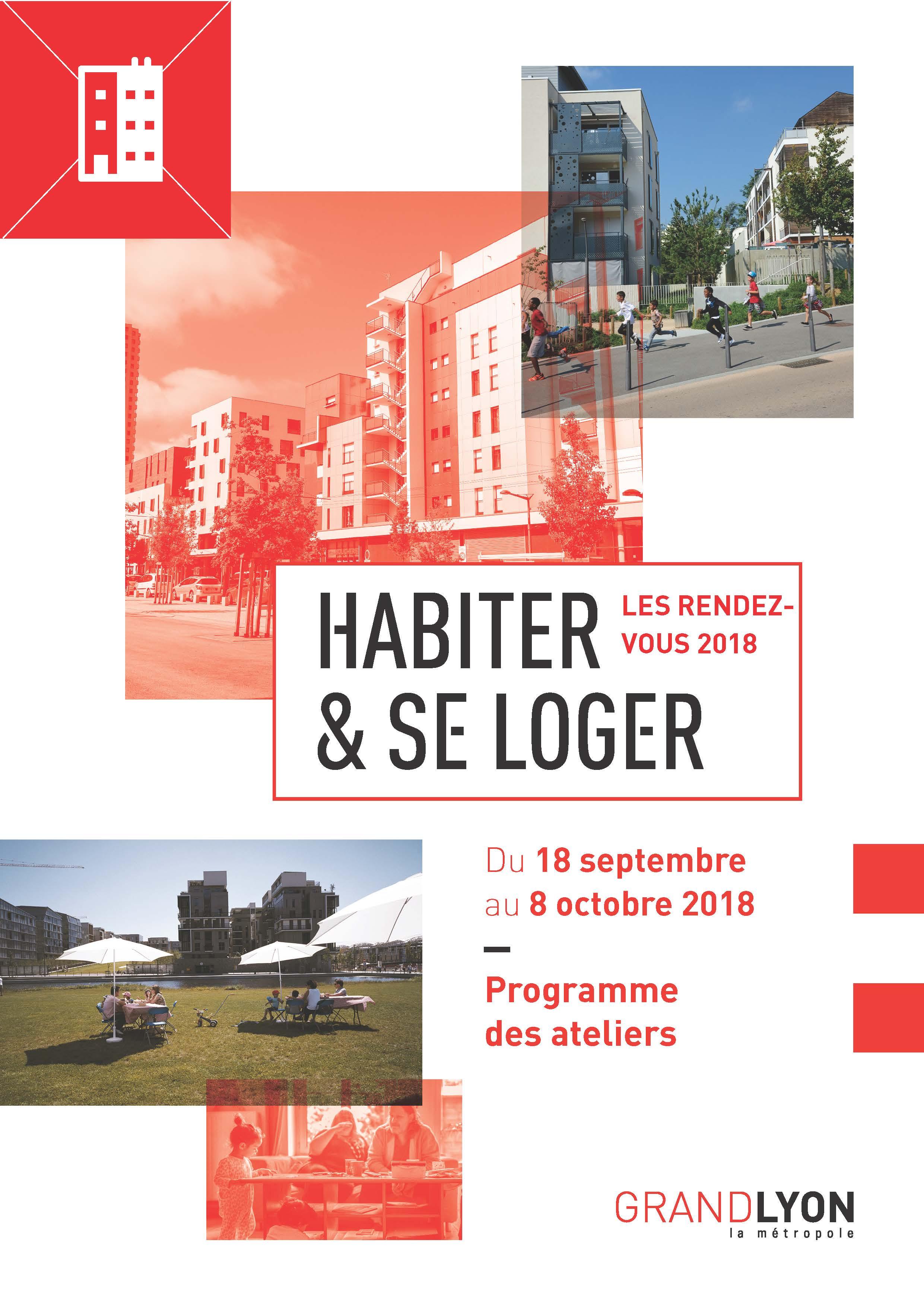 visuel «Habiter et se Loger: les rendez-vous 2018»: De Rue Habitat à PolyGônes