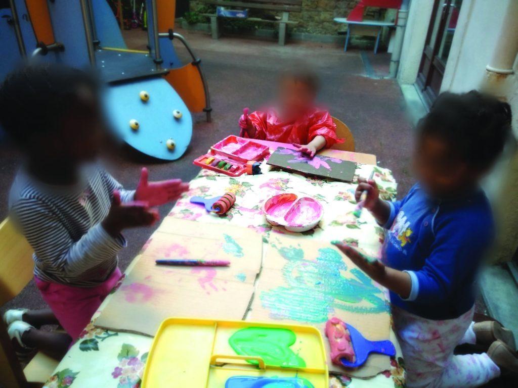 image enfants l'Auvent ALYNEA